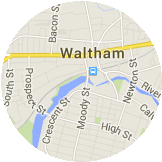 Map Waltham
